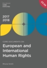 Image for Core documents on European and international human rights, 2017-18