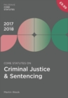 Image for Core statutes on criminal justice & sentencing 2017-18