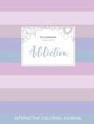 Image for Adult Coloring Journal : Addiction (Pet Illustrations, Pastel Stripes)