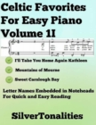 Image for Celtic Favorites for Easy Piano Volume 3 G