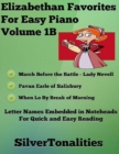Image for Elizabethan Favorites for Easy Piano Volume 1 B