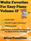 Image for Waltz Favorites for Easy Piano Volume 1 F
