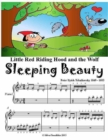 Image for Little Red Riding Hood Sleeping Beauty and the Wolf - Beginner Piano Sheet Music Junior Edition