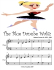 Image for Blue Danube Waltz Johann Strauss Jr. - Beginner Tots Piano Sheet Music