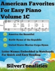 Image for American Favorites for Easy Piano - Volume 1 C