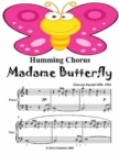 Image for Humming Chorus Madame Butterfly - Easy Piano Sheet Music Junior Edition