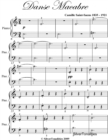 Image for Danse Macabre Easy Piano Sheet Music In Aminor