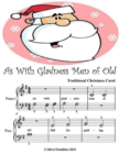Image for As With Gladness Men of Old - Beginner Tots Piano Sheet Music