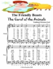 Image for Friendly Beasts the Carol of the Animals - Easy Piano Sheet Music Junior Edition