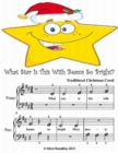 Image for What Star Is This With Beams So Bright - Beginner Tots Piano Sheet Music