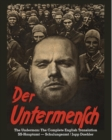 Image for Der Untermensch The Underman : The Complete English Translation