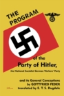 Image for The Program of the Party of Hitler