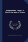 Image for Shakespeare's Tragedy of Othello, the Moor of Venice