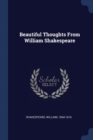 Image for Beautiful Thoughts from William Shakespeare