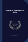 Image for Journal of a Residence in India