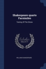 Image for Shakespeare-Quarto Facsimiles : Taming of the Shrew