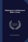 Image for Shakespere's a Midsummer Night's Dream