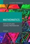Image for IB course preparation mathematics: Student book