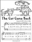 Image for Cat Came Back - Beginner Piano Sheet Music Tadpole Edition