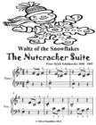 Image for Waltz of the Snowflakes the Nutcracker Suite - Beginner Piano Sheet Music Tadpole Edition