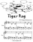 Image for Tiger Rag - Beginner Piano Sheet Music Tadpole Edition
