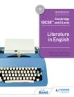 Image for Cambridge IGCSE and O Level Literature in English