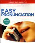 Image for Living Language Easy Pronunciation