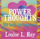 Image for Power thoughts  : 365 daily affirmations