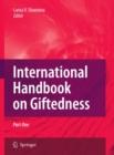 Image for International handbook on giftedness