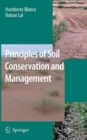Image for Principles of soil conservation and management
