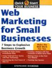 Image for Web marketing for small businesses  : 7 steps to explosive business growth