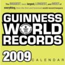 Image for 2009 Guiness Book of World Records Boxed Calendar