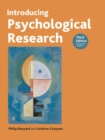 Image for Introducing psychological research