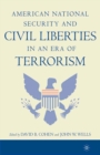 Image for American national security and civil liberties in an era of terrorism