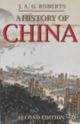 Image for A history of China