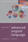Image for Mastering advanced English language