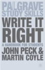 Image for Write it right  : a handbook for students