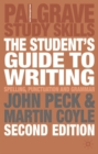 Image for The student's guide to writing  : grammar, punctuation and spelling