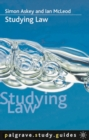 Image for Studying law