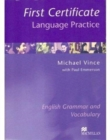Image for First Certificate Language Practice : Without Key