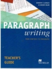 Image for Paragraph Writing Teachers Guide International