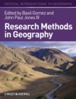 Image for Research methods in geography  : a critical introduction