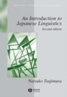 Image for An Introduction to Japanese Linguistics