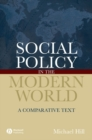 Image for Social policy in the modern world  : a comparative text