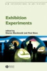 Image for Exhibition experiments