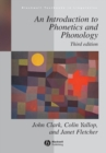 Image for An introduction to phonetics and phonology