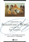 Image for A companion to Shakespeare's worksVol. 3: The comedies