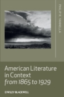 Image for American literature in context from 1865 to 1929