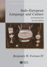 Image for Indo-European language and culture  : an introduction