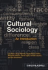 Image for Cultural sociology  : an introduction